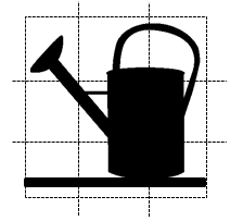 Puzzle: watering can
